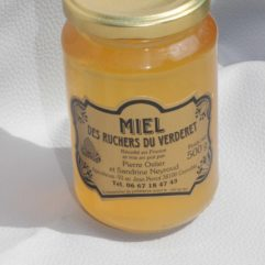 miel de châtaignier en pot